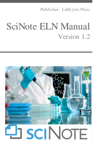 SciNote ELN Manual