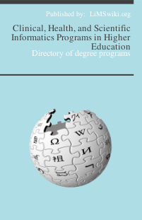 Clinical, Health, and Scientific Informatics Programs in Higher Education